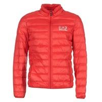 Textil Homem Quispos Emporio Armani EA7 TRAIN CORE ID DOWN LIGHT JKT Vermelho