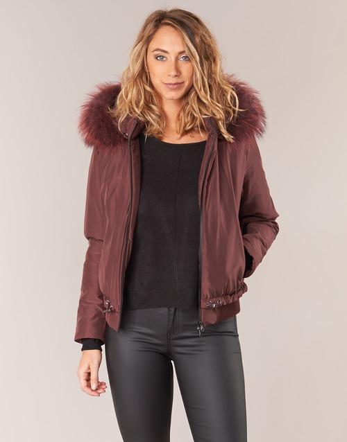 Textil Mulher Jaquetas Oakwood 62432 Bordô