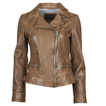 Textil Mulher Casacos de couro/imitação couro Oakwood 62065 Conhaque