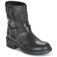 Sapatos Mulher Botas baixas Meline SCARPA Preto