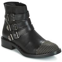 Sapatos Mulher Botas baixas Meline PESCINO Preto