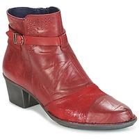 Sapatos Mulher Botins Dorking DALMA Vermelho