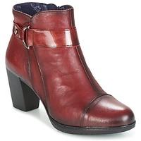 Sapatos Mulher Botins Dorking EVELYNE Vermelho