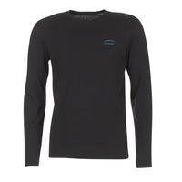 Textil Homem T-shirt mangas compridas Oxbow TEITH Preto