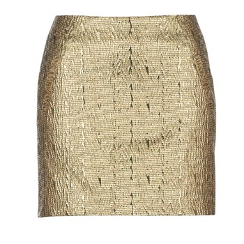 Textil Mulher Saias See U Soon FASOU Ouro