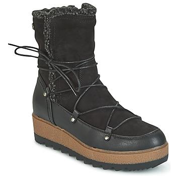 Sapatos Mulher Botas de neve Refresh GLORIA Preto