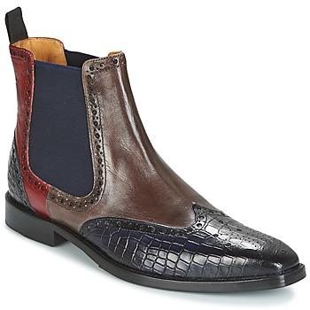 Sapatos Homem Botas baixas Melvin & Hamilton MARTIN 5 Castanho