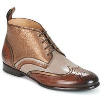 Sapatos Mulher Botas baixas Melvin & Hamilton SALLY 16 Dourado