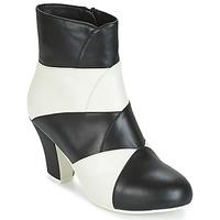Sapatos Mulher Botins Lola Ramona ELSA Branco / Preto