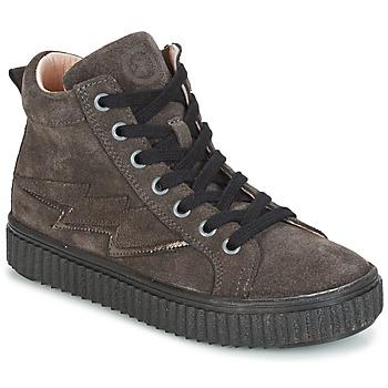 Sapatos Rapariga Sapatilhas de cano-alto Acebo's LONDON Cinza