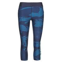 Textil Mulher Collants Under Armour UA HG ARMOUR GRAPHIC CAPRI Azul