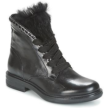 Sapatos Mulher Botas baixas Mjus CAFE LACE Preto