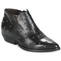 Sapatos Mulher Botas baixas Mjus CHRISSIE STUD Preto