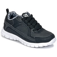 Sapatos Rapaz Sapatilhas Freegun FG VINO Preto