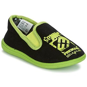Sapatos Rapaz Chinelos Freegun FG NADAM Preto