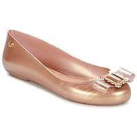 Sapatos Mulher Sabrinas Melissa VW SPACE LOVE 18 ROSE GOLD BUCKLE Rosa / Ouro