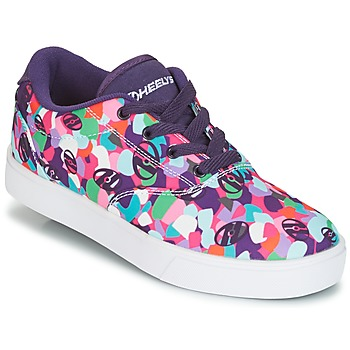 Sapatos Rapariga Sapatilhas com rodas Heelys LAUNCH Violeta / Multicolor