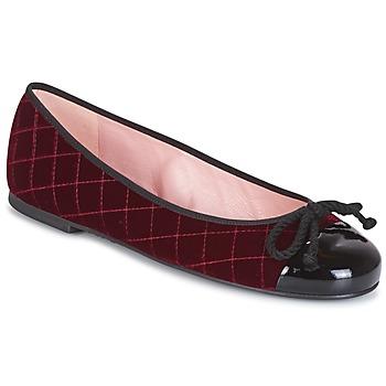 Sapatos Mulher Botins Pretty Ballerinas  Bordô