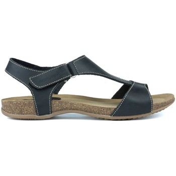Sapatos Mulher Sandálias Interbios SANDALIA COMODA ANATOMICA NEGRO