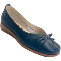 Sapatos Mulher Mocassins 48 Horas Mulher de tipo cunha sapato manoletina laço de abertura baixo no azul