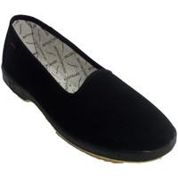Sapatos Mulher Chinelos Doctor Cutillas sapata lisa mulher idosa especial  em Preto negro