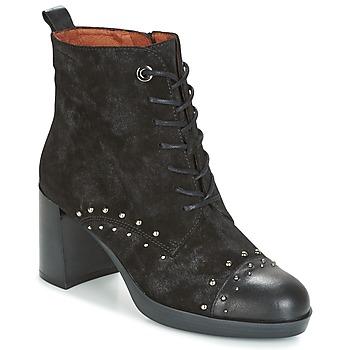Sapatos Mulher Botins Hispanitas DREW 17 Preto