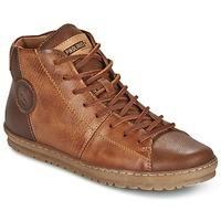 Sapatos Mulher Sapatilhas de cano-alto Pikolinos LAGOS 901 Castanho