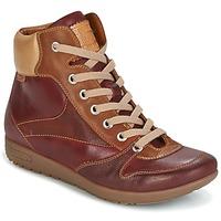 Sapatos Mulher Sapatilhas de cano-alto Pikolinos LISBOA W67 Castanho