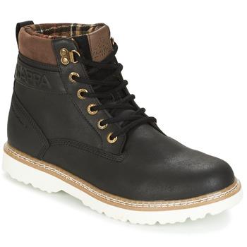 Sapatos Homem Botas baixas Kappa WHYMPER Preto / Castanho