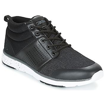 Sapatos Homem Sapatilhas de cano-alto Kappa NASSAU MID Preto / Cinza