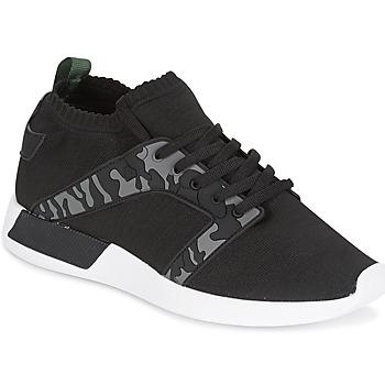 Sapatos Homem Sapatilhas Cash Money ARMY Preto / Cáqui