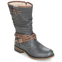 Sapatos Mulher Botas Mustang ISALBA Cinza