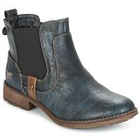 Sapatos Mulher Botas baixas Mustang NANI Marinho
