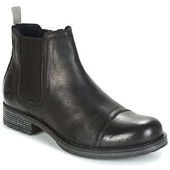 Sapatos Homem Botas baixas Mustang MELI Preto