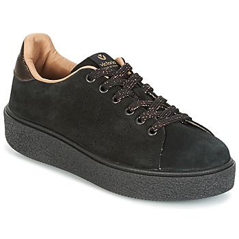Sapatos Mulher Sapatilhas Victoria DEPORTIVO SERRAJE P. NEGRO Preto