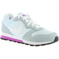 Sapatos Mulher Sapatilhas Nike 749869 MD RUNNER 2 Blanco
