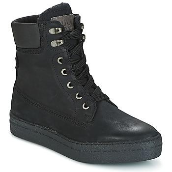 Sapatos Mulher Sapatilhas de cano-alto Bullboxer GANDIA Preto