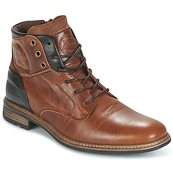 Sapatos Homem Botas baixas Bullboxer MOHA Conhaque