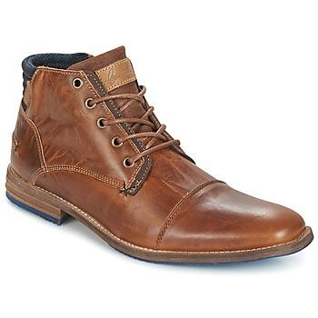 Sapatos Homem Botas baixas Bullboxer MESSI Conhaque