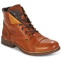 Sapatos Homem Botas baixas Bullboxer BEN Conhaque