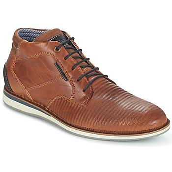 Sapatos Homem Botas baixas Bullboxer FILAT Conhaque