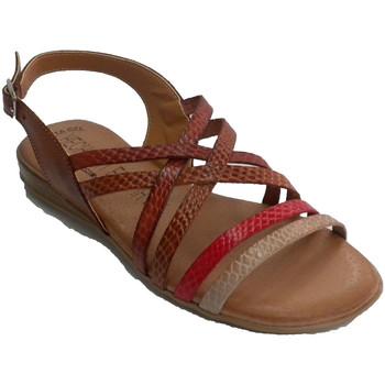 Sapatos Mulher Sandálias Togar tiras coloridas Sandália da mulher azul