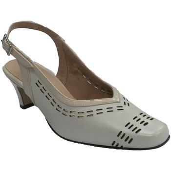 Sapatos Mulher Escarpim Trebede Mulheres Sapato abrir volta  em Beig beige