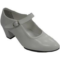 Sapatos Mulher Sabrinas Danka Sevilhano dança flamenca sapato menina ou mulher  em Branco blanco
