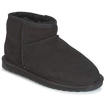 Sapatos Mulher Botas baixas EMU STINGER MICRO Preto