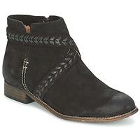 Sapatos Mulher Botas baixas MTNG DI Preto