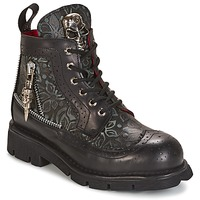 Sapatos Botas baixas New Rock MORTY Preto
