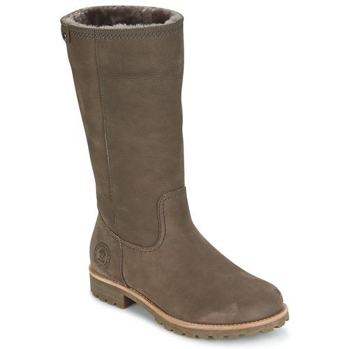 Sapatos Mulher Botas Panama Jack BAMBINA Cinza