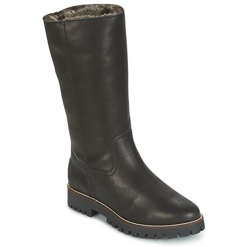 Sapatos Mulher Botas baixas Panama Jack TANIA Preto