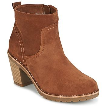 Sapatos Mulher Botins Panama Jack ARLES Castanho